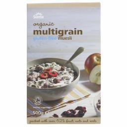 Muesli GF Multigrain, by Suma - 500g