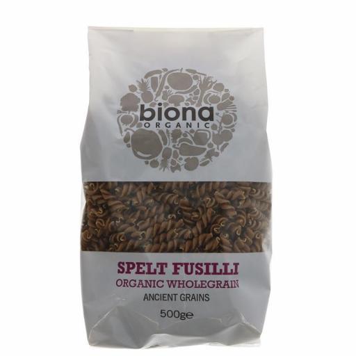 Biona Wholewheat Spelt Fusili - 500g