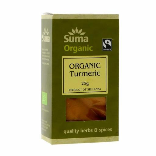 Turmeric - Fairtrade, by Suma - 25g