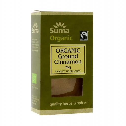 Cinnamon - Fairtrade, by Suma - 25g