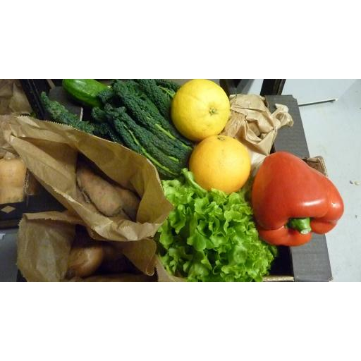 Veg Box, Small, Version 2 - (With Salad, No Cabbage or Fruit)