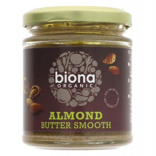 Almond Butter Smooth by Biona  - 170g