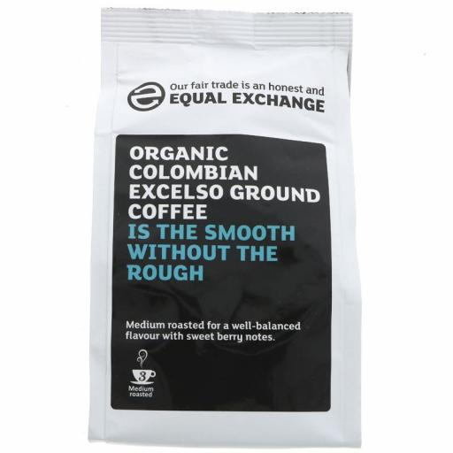 Coffee - Organic Colombian Excelso by Equal Exchange - 227g